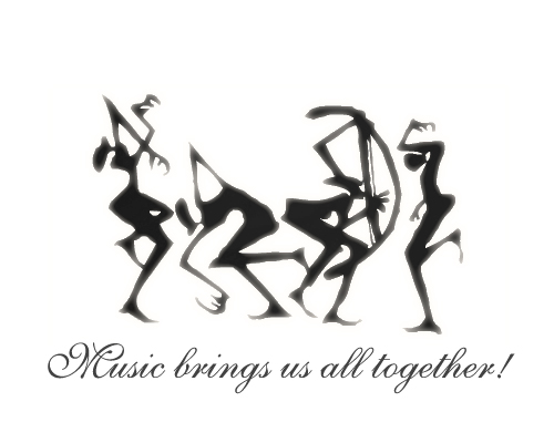 Music Brings Us All Together - PRECIOUS HALL